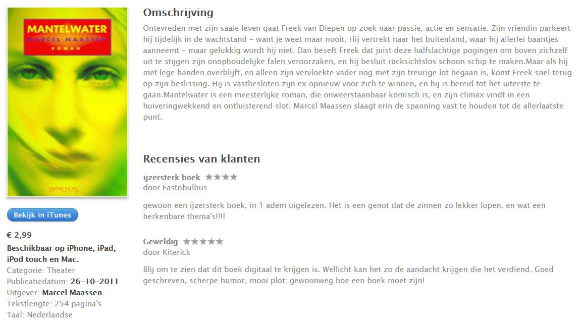 roman Mantelwater Marcel Maassen op iTunes