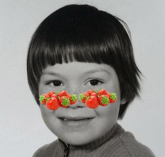 Definitief ontsproeten met aardbeien