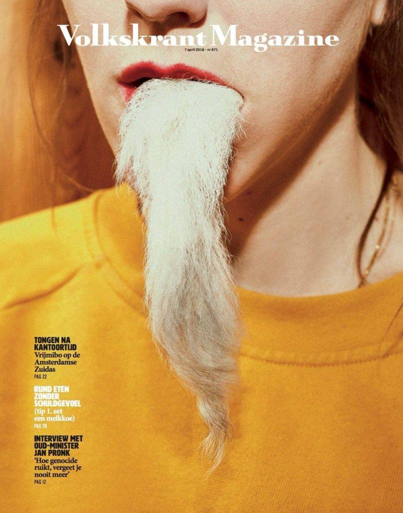 Cover Volkskrant Magazine Marcel Maassen
