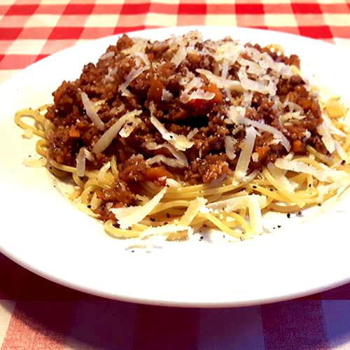 Spaghetti Bolognese – maar dan echt