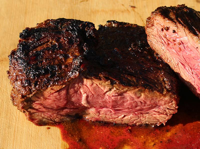 Vochtverlies bij het aansnijden van vlees