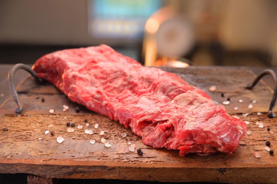 Inside skirt vlees rund