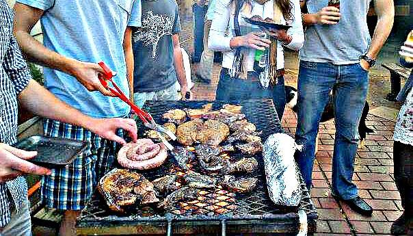 Zuid-Afrikaanse BBQ party, een Braai