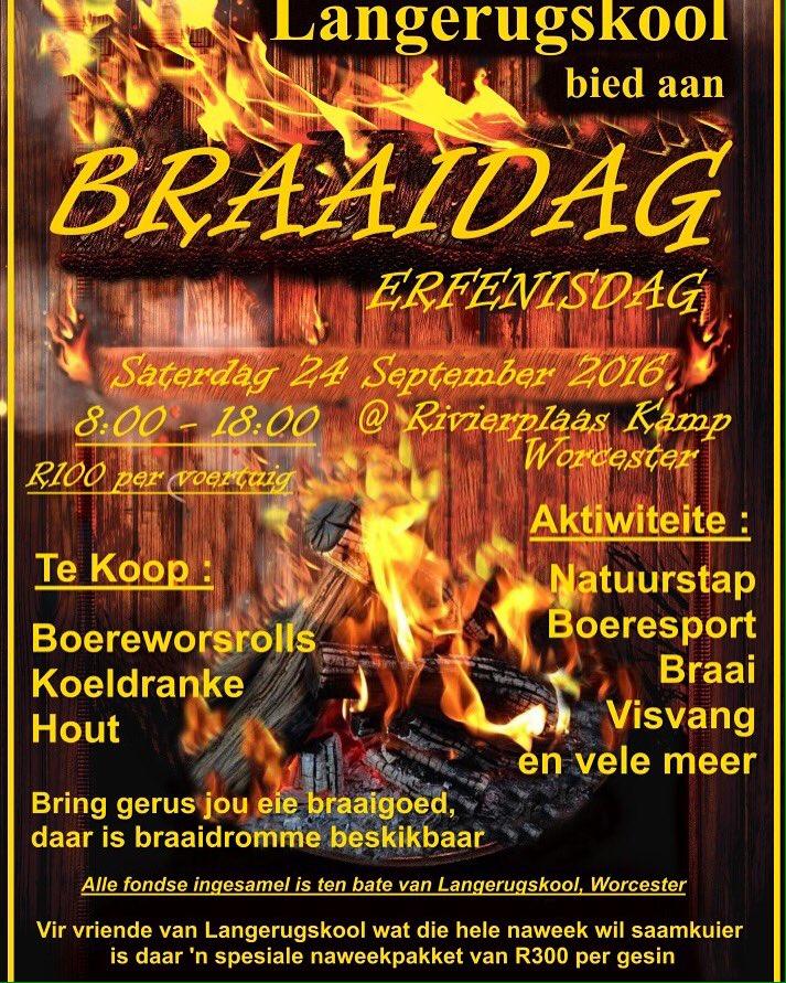 Nationale Braaidag Erfenisdag Zuid-Afrika Marcel Maassen BBQ Buddy